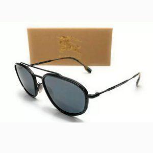Burberry Men's Matte Black Sunglasses!